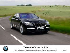 The new BMW 740d M Sport (08/2009)