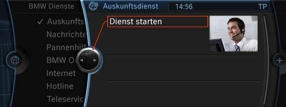 BMW ConnectedDrive Telefonischer Auskunftsdienst (09/2009)