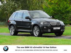 The new BMW X5 xDrive35d 10-Year Edition (09/2009)