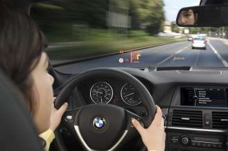 Research project Head-Up Display Max - Interactive Operation integration (10/2009)