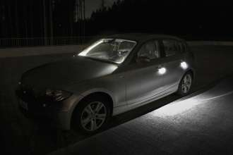 Light design - BMW 1 series prototype (Source: Bartenbach Lichtlabor) (10/2009)