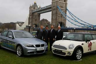 BMW announced as automotive partner of London Olympic and Paralympic Games.  