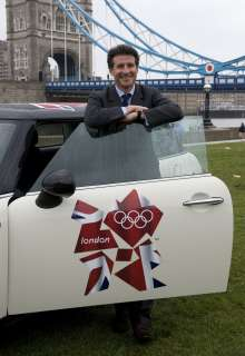 BMW announced as automotive partner of London Olympic and Paralympic Games.  Lord Sebastian Coe, Chairman of the London Organising Committee of the Olympic Games and Paralympic Games (LOCOG).   (UK 11/09)