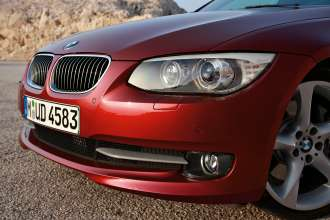 The new BMW 3 Series Coupé - headlamps  (01/2010)
