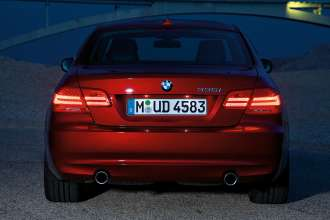 The new BMW 3 Series Coupé - rearlights (01/2010)