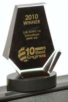 Ward's 10 Best Engines Award, Januar 2010