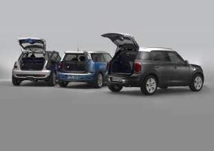 MINI Cooper D Countryman, MINI Cooper S Clubman and MINI Cooper S 50 Camden (02/2010)