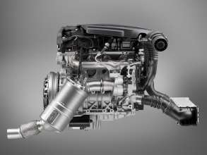 New BMW four cylinder diesel engine (03/2010)