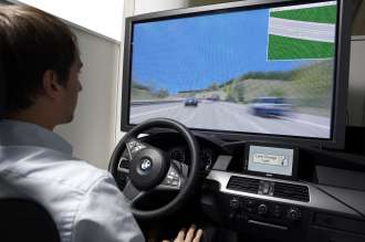 Simulation Research Project Emergency Stop Assistant by BMW ConnectedDrive