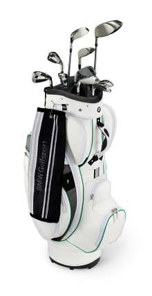 Golf Cartbag, white (02/2010)