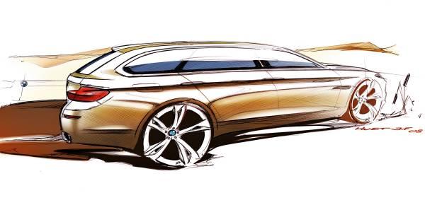 The new BMW 5 Series Touring - Jean-Francois Huet, Exterior Designer (03/2010)