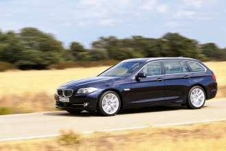 25 Years BMW All-Wheel-Drive Expertise - BMW 5 Series Touring model year 2010 (10/2010)