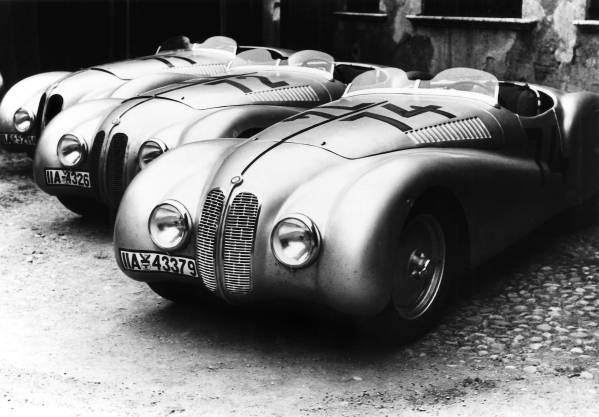 "BMW 328 ""Mille Miglia"" Roadsters at the 1st Italian Mille Miglia Grand Prix in Brescia, April 28, 1940 (03/2010)"