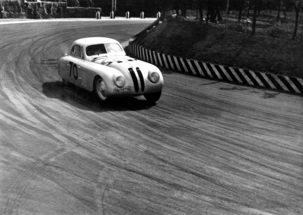 BMW 328 Touring Coupé during the 1st Italian Mille Miglia Grand Prix in Brescia, April 28, 1940 (03/2010)