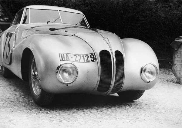 BMW 328 Mille Miglia Kamm Racing Saloon at the 1st Italian Mille Miglia Grand Prix in Brescia, April 28, 1940 (03/2010)