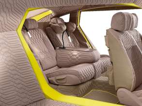 Interior with Neck Pillow rear seat right