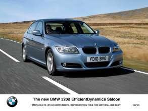 The new BMW 320d EfficientDynamics Saloon