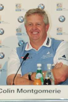 Thursday, 24. June 2010, press conference, Colin Montgomerie (2010 Ryder Cup Captain Team Europe), BMW International Open (06/2010)