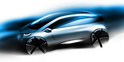 BMW Group Megacity Vehicle Design Sketch (07/2010)