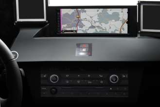 iDrive Controller with integrated touch control (10/2010)