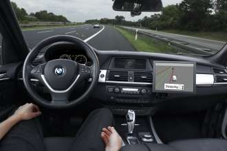 Research Project Emergency Stop Assistant by BMW ConnectedDrive (10/2010)