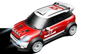 Design sketch of the MINI Countryman WRC (07/2010)