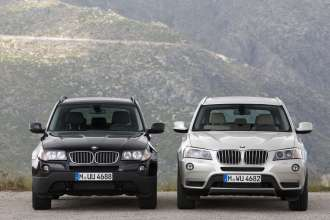 The BMW X3 - Two generations. (09/2010)