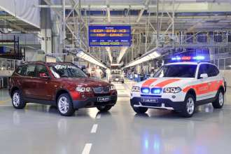 The second last and the last first generation BMW X3 in Graz. (09/2010)