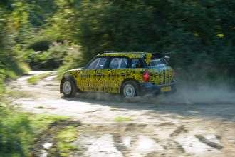 MINI Countryman WRC Shakedown on Gravel, September 2010, Warwickshire (GB)