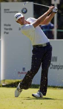 BMW Championship, Chicago, Dustin Johnson, winner of the BMW Championship 2010 (09/2010)