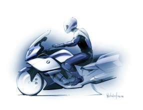 BMW K 1600 GT, design drawing (10/2010)