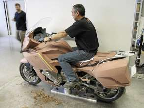 BMW K 1600 GT, BMW K 1600 GTL, design process (10/2010)