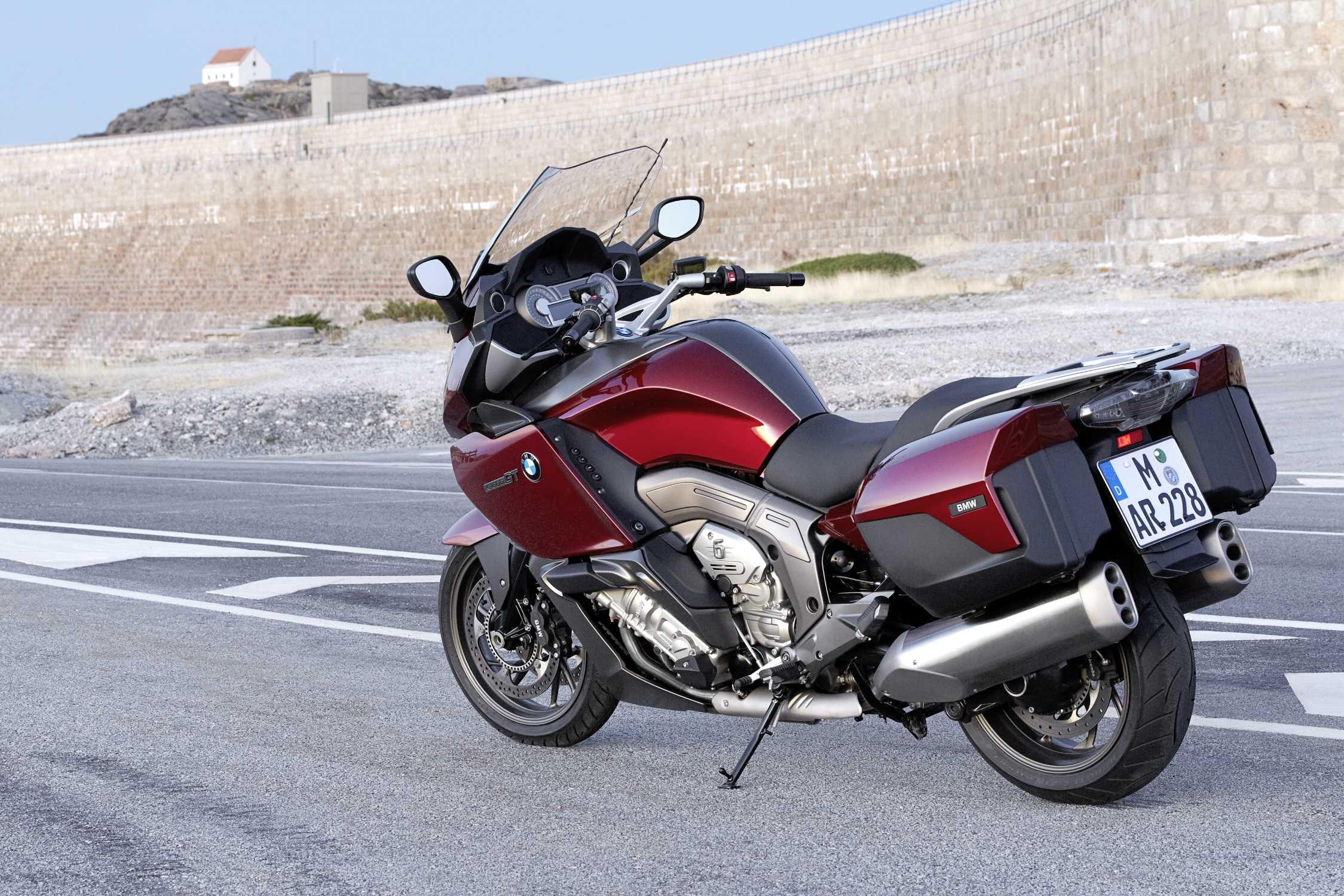 Мотоцикл БМВ k1600gt #9