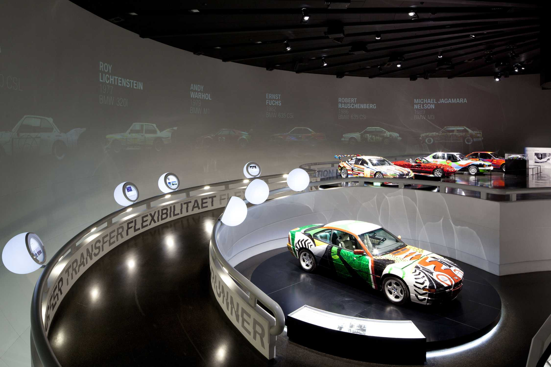 BMW Art Car Exhibition At The BMW Museum October To June - Exhibition car
