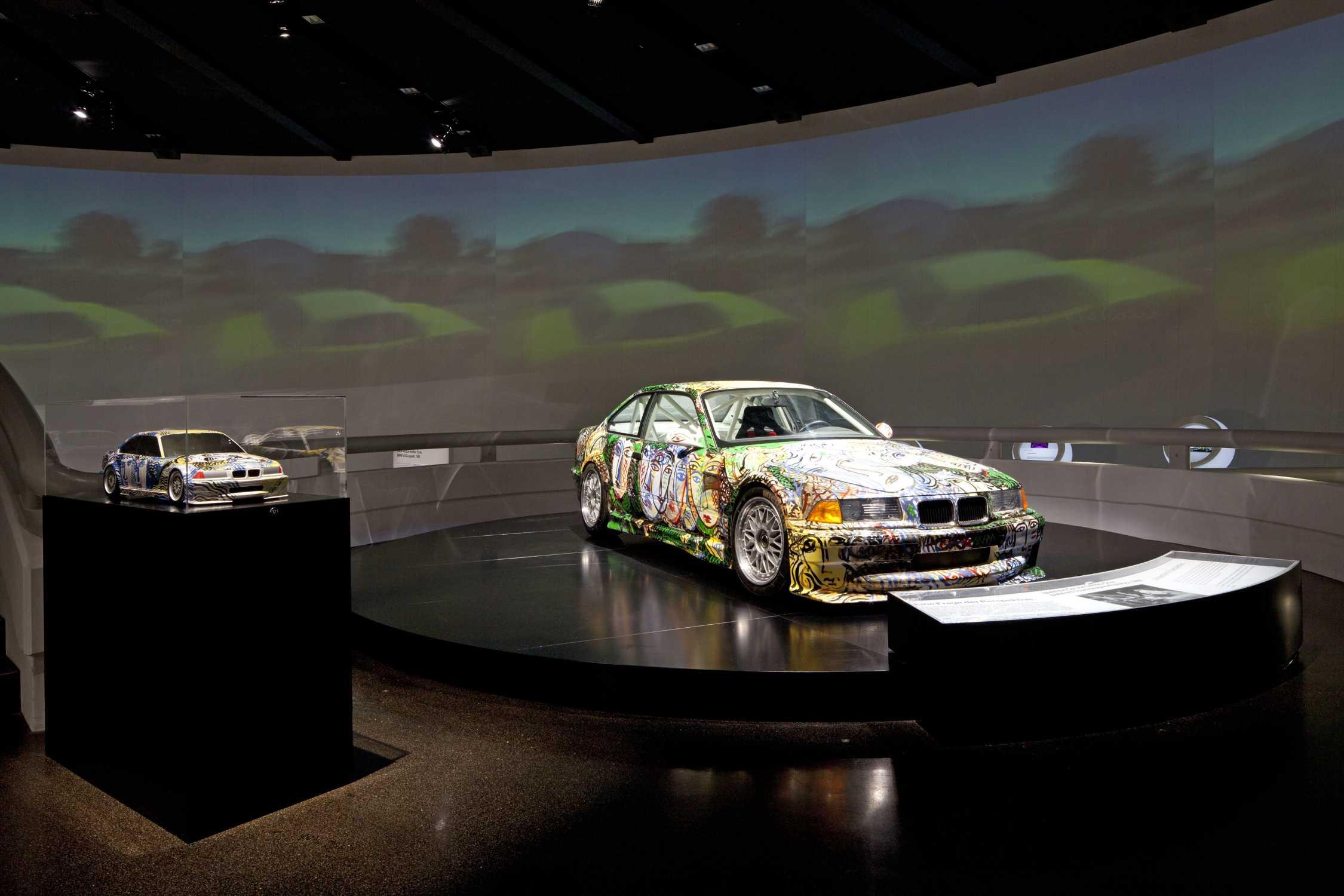 Sandro Chia BMW Touring Racer - Exhibition car