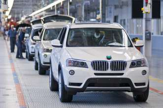 Expansion BMW Plant Spartanburg, BMW X3 Production (10/2010)