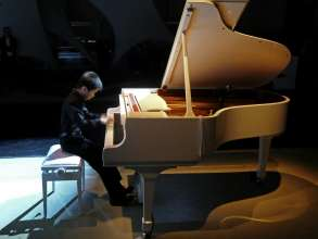 Antong Zou at the BMW Individual 7 Series Composition inspired by Steinway & Sons launch (11/2010).
