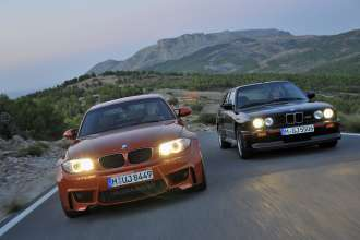 BMW 1 Series M Coupe and BMW M3 Sport Evolution. (12/2010)