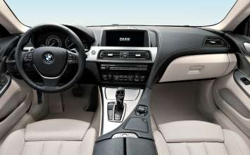 The new BMW 6 Series Coupe - Interior (03/2011).