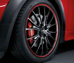 18 inch wheel Cross Spoke Red Stripe (03/2011)