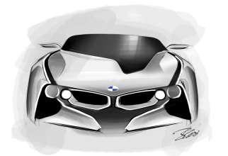 BMW Vision ConnectedDrive - Exterior sketch (02/2011)