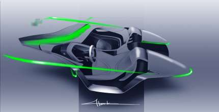 BMW Vision ConnectedDrive - Interior sketch (02/2011)