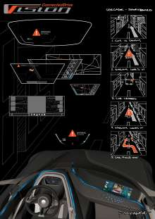 BMW Vision ConnectedDrive - Interface sketch (02/2011)