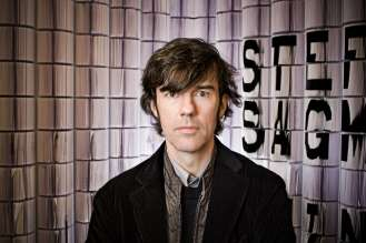 Stefan Sagmeister, graphic designer, winner of two Grammys and creator of the publication CULTURE. Copyright: John Madere. (02/2011)