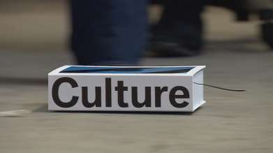 CULTURE by Stefan Sagmeister. Publication on the international cultural engagement of the BMW Group with an integrated, remote-controlled car. (02/2011)