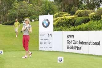 BMW Golf Cup International, Abschlag Elfriede Grabner (02/2011)