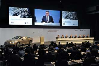 BMW Group Annual Accounts Press Conference in Munich on 15 March 2011 (03/2011)