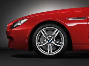 BMW 6 Series Coupe M Sport package 19-inch M light alloys (07/2011).