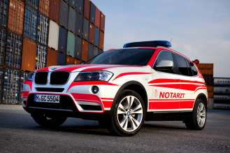 BMW X3 Paramedic Vehicle (04/2011)