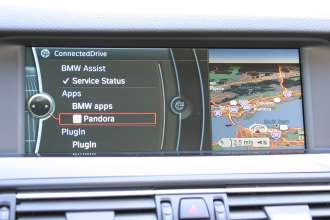 BMW Pandora - Entry Point ConnectedDrive (04/2011)
